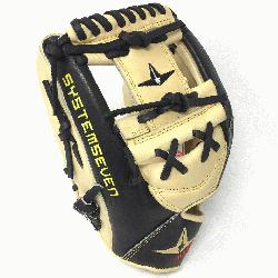 r System Seven Baseball Glove 11.5 Inch Left Handed Throw  Designed with the sa