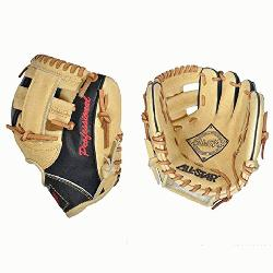 he Pick 9.5 inch fielding training mitt