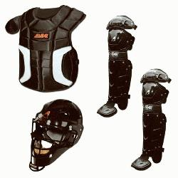 the youth Player Series baseball catcher