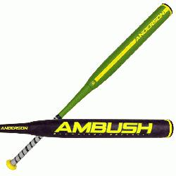 2017 <strong>Ambush Slow Pitch</strong> two piece composite bat is mad