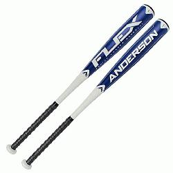 e Anderson Flex -10 Senior League 2 34 Barrel bat is