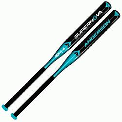 Supernova Fast Pitch Softball Bat -10 34-inch-24-oz  The 2015 Anderson Supernova Fast Pitch So