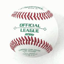 Bucket with 30 DOL-A Offical League Baseballs Shipped. Leath