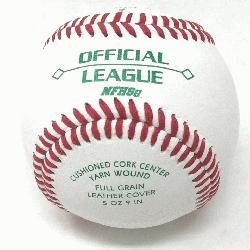 cket with 30 DOL-A Offical League Baseballs Shipped. Leather co