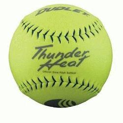 0 Core Classic W Thunder Heat 325lb 11 Yellow Softballs Cover Synthetic 1 Doz
