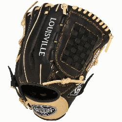 ger Omaha Flare series baseball glove combines Louisville Sluggers iconic Flare d