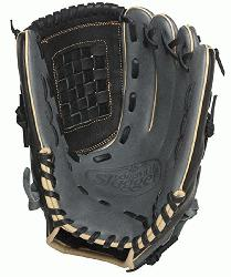 Slugger 125 Series Gray 12 inch Baseball Glove Right Handed Throw  Built
