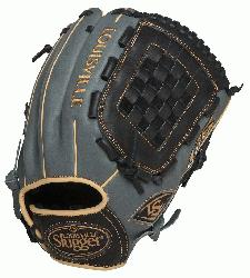 e Slugger 125 Series Gray 12 inch Baseball Glove Right Handed Throw  Built for superior feel