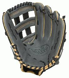 125 Series Gray 12.5 inch Baseball Glove Right Handed Throw  Built for