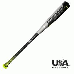 518 -10 2 5/8 USA Baseball bat from Louisville Slugger is designed to help players d