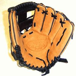>Louisville Slugger 11.25 Baseball glove made in Mexico. Super stiff leather that will