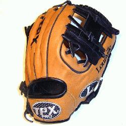 uisville Slugger 11.25 Baseball glove made in Mexico. Super stiff leather that will take a l