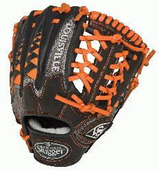 Slugger HD9 11.5 inch Baseball Glove Orange Left Hand Throw  The HD9 Series is built with rev