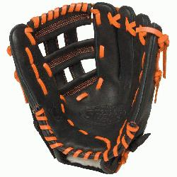 r HD9 11.75 inch Baseball Glove Orange Right Hand Throw  The HD9 Series is built with re