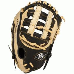 ger Omaha Flare series baseball glove combines Louisville Slugger\x iconic Flare desig