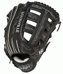 lugger Pro Flare Black 12.75 in Baseball Glove Right Handed Throw  Loui