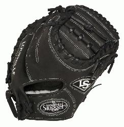 ville Slugger Pro Flare Black 32.5 inch Catchers Mitt Right Handed Throw  Louisville Slug