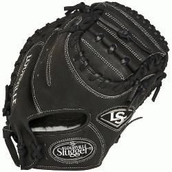 le Slugger Pro Flare Black 32.5 inch Catchers Mitt Right Handed Throw