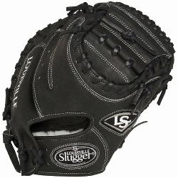 e Slugger Pro Flare Black 32.5 inch Catchers Mitt