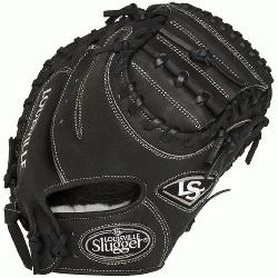 e Slugger Pro Flare Black 32.5 inch Catchers Mitt Right Handed Th