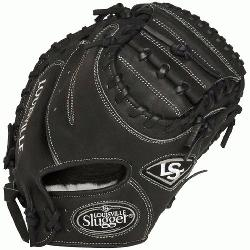 lle Slugger Pro Flare Black 32.5 inch Catchers Mitt Right