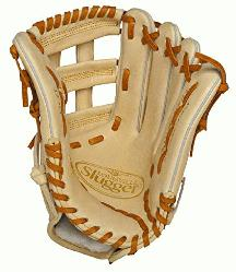 ille Slugger Pro Flare Cream 12.75 inch Baseball Glove Right Handed Throw