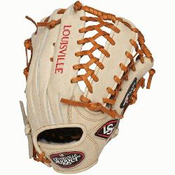 e Slugger Pro Flare Cream 13 inch Outfield Baseball Glove Left Handed Throw  Louisville Slugger