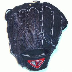 r Black Mesh Back 11.75 Pro Flare Series Dual Hinge Web Baseball Glove Exclusive