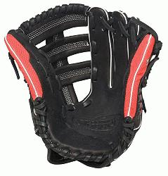Louisville Slugger Super Z Black 12.75 inch Slow Pitch Softball Glove Right Handed Throw  The Sup