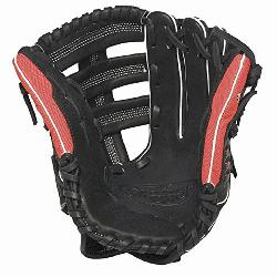 lugger Super Z Black 12.75 inch Slow Pitch Softball Glove Right Handed Throw