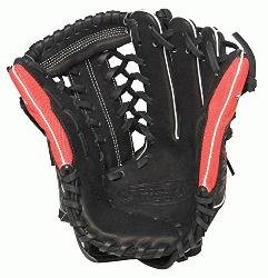ville Slugger Super Z Black 13 inch Slow Pitch Softball Glove Right Handed Throw