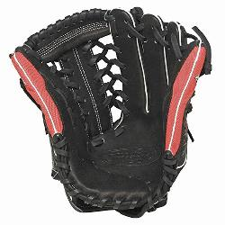 ger Super Z Black 13 inch Slow Pitch Softball Glove Right Handed T
