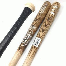 aseball bats by Louisville Slugger. MLB Authentic Cut Ash Wood