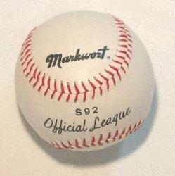 icial League Baseball 1 each  Markwort Official Ba