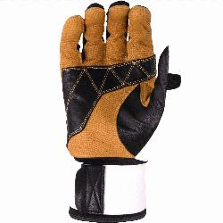 able training glove inspired by heavy work gloves built to endure hours in the