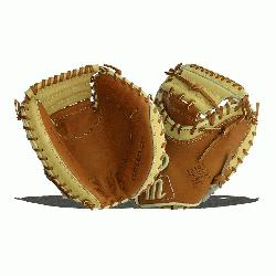 50 Inch Glove Pattern Arrives Stiff For Custom Break-In Conventional Open Back Cowhide Lining