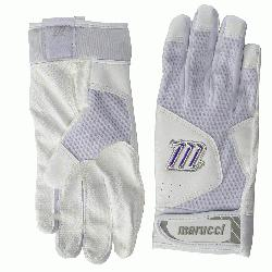 of Marucci's earlier batting glove line this year&rsq