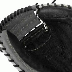 MarucciA Oxbow Series 33.5 Inch Catchers Mitt features a full-grain cowhide leather she