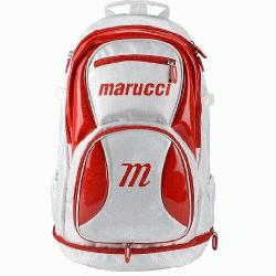 i Team Back Pack WhiteRed  About Marucci Sports Based in Baton Rouge Louisiana Mar