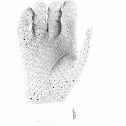 itally embossed perforated Cabretta sheepskin palm