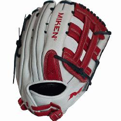 pan>Miken Pro Series 13 slow pitch softball glove featu