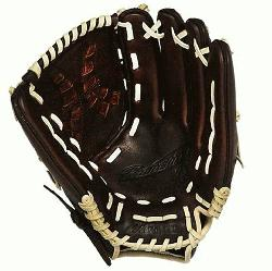 anchise Fastpitch series has pre-oiled java leather which is game rea