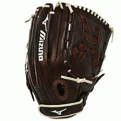 chise Fastpitch series has pre-oiled java leather