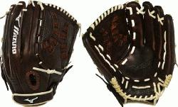 zuno Franchise Fastpitch series has pre-oiled java leather which is