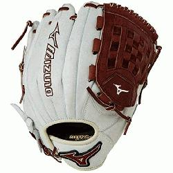 3 MVP Prime Baseball Glove 12 inch Silver-Brown Right Hand Throw  Patent