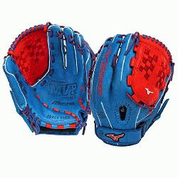F3 Fastpitch Softball Glove 12.5 inch Royal-Red Ri