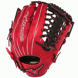1277PSE3 MVP Prime Baseball Glove 12.75 inch Red-Black Right Hand Throw  Patent pendi