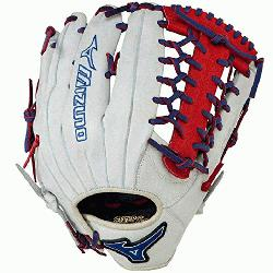 MVP Prime Baseball Glove 12.75 inch Red-Black Right Hand Throw  Patent pendi
