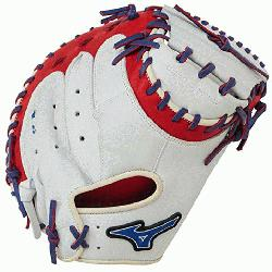 Catchers Mitt 34 inch MVP Prime Navy-Red Right Hand Throw  Patent pend