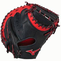Catchers Mitt 34 inch MVP Prime Navy-Red Right Hand Throw  Patent pending Hee